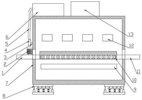 小型隧道炉烤箱原理图