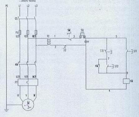 法棒整形机电路图